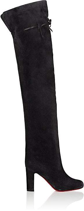 Christian Louboutin Women's Alta Gant Over-The-Knee Boots