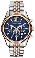 Michael Kors Men's Lexington Two-Tone Stainless Steel Chronograph Watch