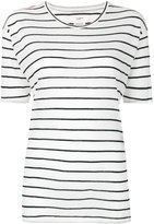 Etoile Isabel Marant striped knitted top - women - Cotton/Linen/Flax - S