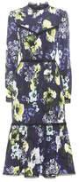 Erdem Georgie printed silk dress