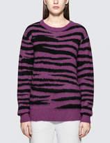 Stussy Zebra Mohair Sweatshirt
