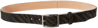 Rag & Bone Boyfriend Haircalf & Suede Belt