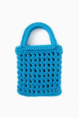 Binge Knitting Tangerine Capri Beach Mini Tote