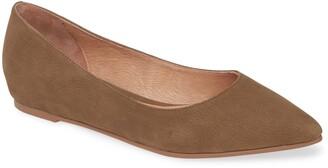 Caslon Laurel Pointed Toe Water Resistant Flat