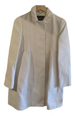Max & Co. White Cotton Coats
