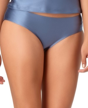 Anne Cole Studio Cinch-Back Bikini Brief Bottoms Women's Swimsuit