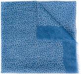 Canali circle pattern scarf