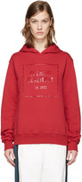 Opening Ceremony Red Gel Logo Hoodie