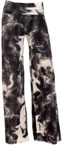 October 10th Women's Wide Leg Printed Stretch Palazzo Pants