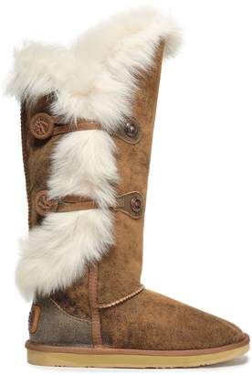 Australia Luxe Collective Burnished Shearling Boots