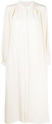 LA COLLECTION Bea silk midi dress