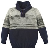 Andy & Evan Infant Boy's Quarter Zip Sweater