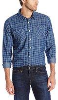 Paper Denim & Cloth Men's Midwood Long Sleeve 2 Pocket Shirt