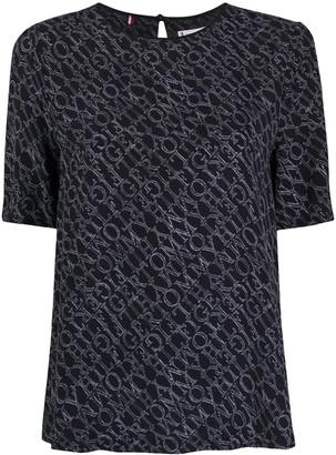 Tommy Hilfiger monogram-print crew neck T-Shirt