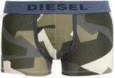 Diesel Umbxdamien Shorts Grey