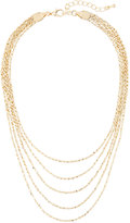 Panacea Golden Layered Choker Necklace