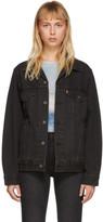 Levi's Levis Black Vintage Fit Trucker Denim Jacket