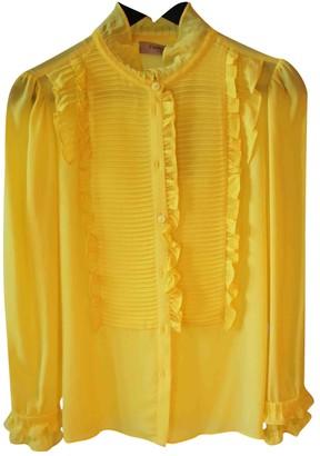 Twin-Set Twin Set Yellow Top for Women