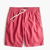 J.Crew Longer dock short in garment-dyed cotton