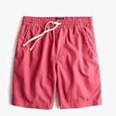 Longer Dock Short In Garment-dyed Cotton