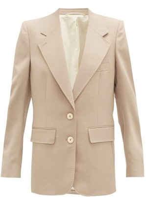 Lemaire Single-breasted Twill Suit Jacket - Beige