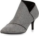 Adrianna Papell Heather Pointed-Toe Elastic Bootie, Gunmetal