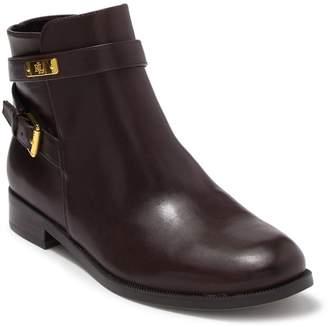 Ralph Lauren Borgia Leather Ankle Bootie