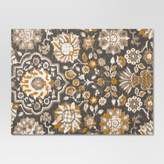 Threshold Gray Floral Placemat