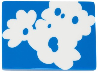 Marni Graphic Print Pin Badge