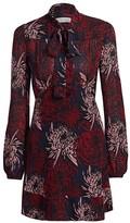 A.L.C. Emery Floral Silk Dress