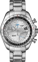 Timex Men's Chronograph Silver Dial Stainless Steel