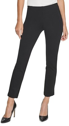 Donna Karan Ponte Knit Cropped Pants