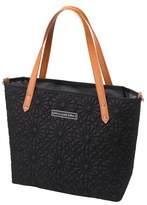 Petunia Pickle Bottom 'Downtown Mini' Floral Embossed Diaper Tote (Special Edition has Goldtone Hardware)