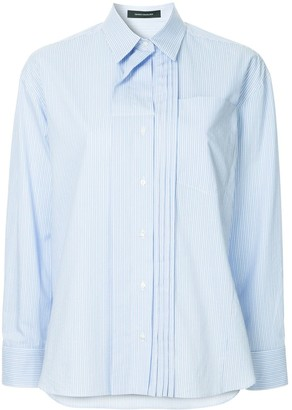 Cédric Charlier Layered Collar Shirt