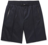 Solid Homme - Stretch-wool Twill Shorts