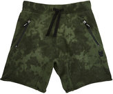 Munster TIE-DYED SHORTS-DARK GREEN, GREEN SIZE 8