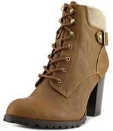 Style&Co. Style & Co Caelie Round Toe Leather Ankle Boot.