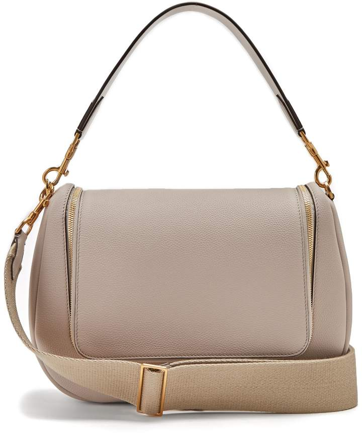 Anya Hindmarch Vere grained-leather shoulder bag