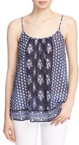 Soft Joie Women's 'Sparkle' Block Print Cotton Tank