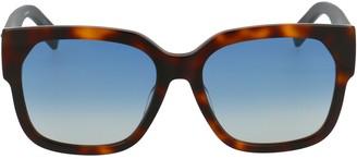 Christian Dior Tortoiseshell Effect Sunglasses
