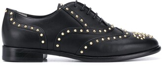 Casadei studded Oxford shoes
