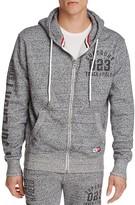 Superdry Trackster Zip Front Hoodie Sweatshirt
