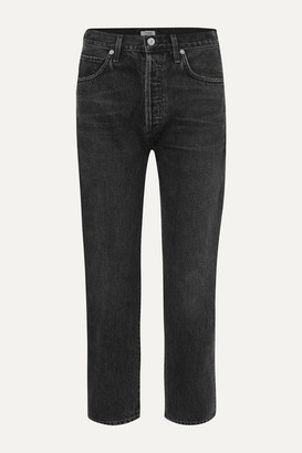 Citizens of Humanity Mckenzie Mid-rise Straight-leg Jeans - Black