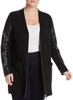 MICHAEL Michael Kors Faux-Leather Jacket