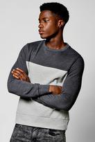 Boohoo Colour Block Sweater