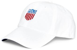 Polo Ralph Lauren Polo Shield Cotton Twill Cap