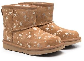 Ugg Kids Star-Print Boots