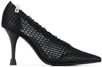 Premiata Mesh Pointed Pumps