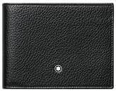 Montblanc Meisterstück 6 Card Soft Grain Leather Wallet, Black