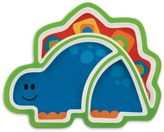 Stephen Joseph Melamine Dino Tray in Blue